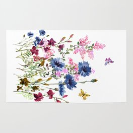 Wildflowers IV Rug