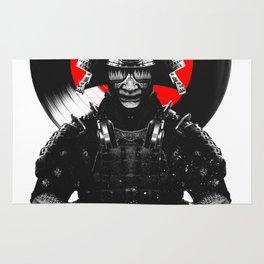 Samurai Dj Warrior Rug