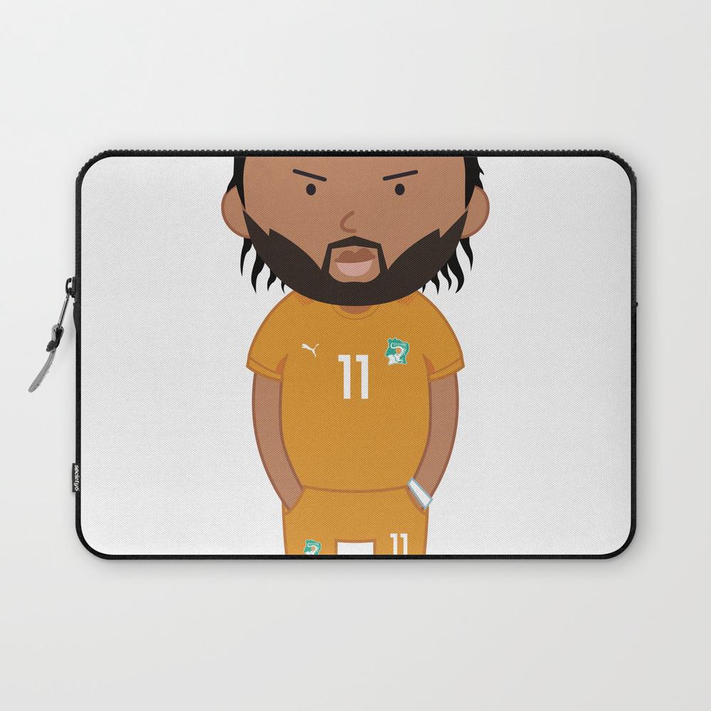 Didier Drogba - Ivory Coast - World Cup 2014 Laptop Sleeve LSV9022451