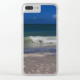 Hitched a Ride on a Wave Clear iPhone Case