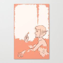 A Surplus of Pink Canvas Print