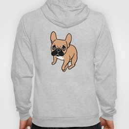 The Cute Black Mask Fawn French Bulldog Needs Some Attention Hoody