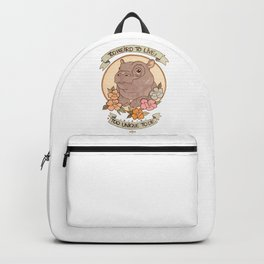 Too Weird To Live, Too Unique To Die. Backpack
