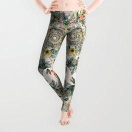 Circle of life- floral Leggings