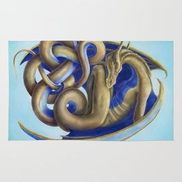 Twisted Dragon Rug