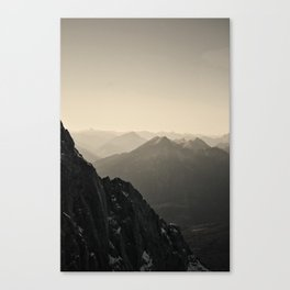 Mountain Side Color Photography Germany Europe Nature Canvas Print