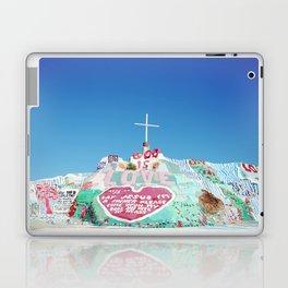 Salvation Mountain in the Californian Desert Laptop & iPad Skin