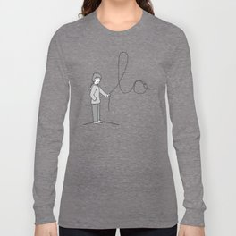 LOVE - His & Hers Matching Couples T-Shirts (MEN'S) Long Sleeve T-shirt