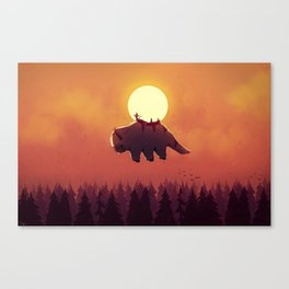 The End of All Things - Night Version Canvas Print