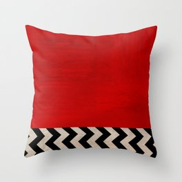 Twin Peaks - Red Room Throw Pillow