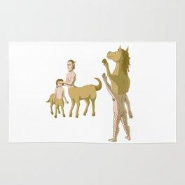 Nobody Likes Reverse Centaur Rug