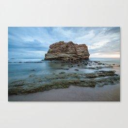 Big rock beach sunset Canvas Print