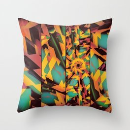 Delayed Impact Throw Pillow