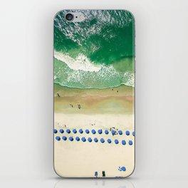 Aerial Beach 2 iPhone Skin