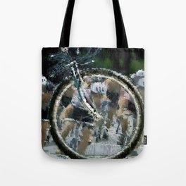 Bike race Tote Bag