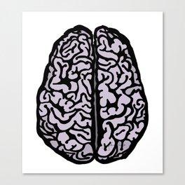 Brain (transparent) Canvas Print