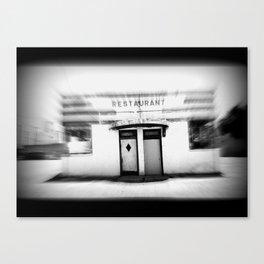 Zoom Restaurant  Canvas Print