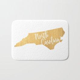 North Carolina gold Bath Mat