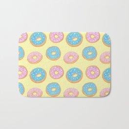 Doughnut Pattern Bath Mat