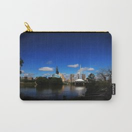 Downtown Winnipeg 3 Picture Panorama Carry-All Pouch