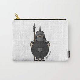 Spartan warrior stylized illustration. Warrior with javelin. Carry-All Pouch
