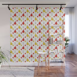 Apron - BBQ Doodle Pattern Wall Mural