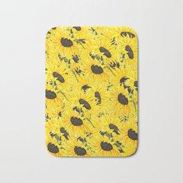 sunflower pattern 2018 1 Bath Mat