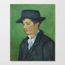 Portrait of Armand Roulin by Vincent van Gogh Canvas Print