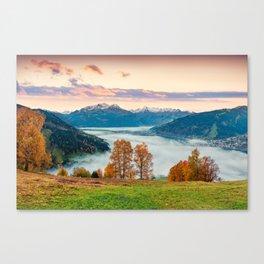 Beautiful Nature Concept Background Canvas Print