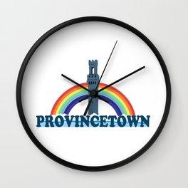 Provincetown - Cape Cod. Wall Clock