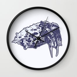 cuttle Wall Clock