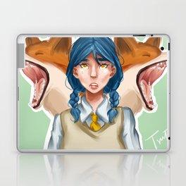 The Fabolous Adventures of Mrs. Fox Laptop & iPad Skin