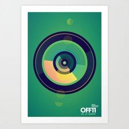 OFF11 - Odense International Film Festival Art Print