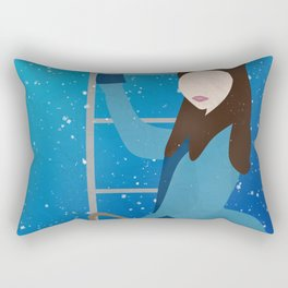 Souffle Girl, Clara Oswin Oswald - Doctor Who Rectangular Pillow