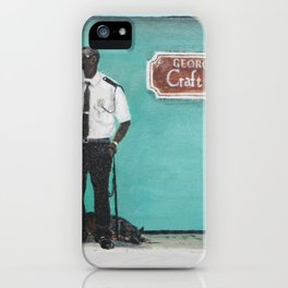 George Town Craft Market iPhone Case