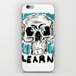 Learn: Skull iPhone Skin