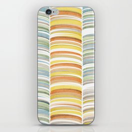 Earth color strokes iPhone Skin