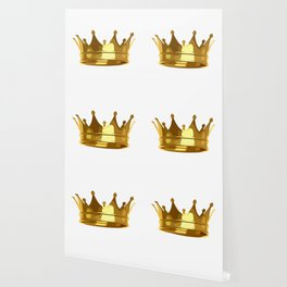 Royal Shining Golden Crown for King or Queen Wallpaper