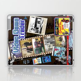 Video Game Trader #32 Cover Design Laptop & iPad Skin
