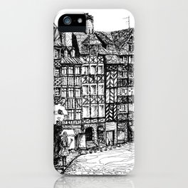 Half-Timbered iPhone Case