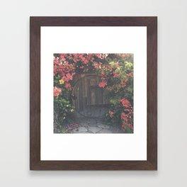 CIRCLE CELLAR DOOR Framed Art Print