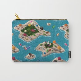 Trash Islands Carry-All Pouch