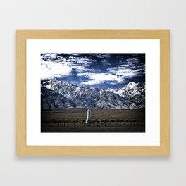 Manzanar Framed Art Print