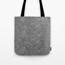 Sara - black Tote Bag