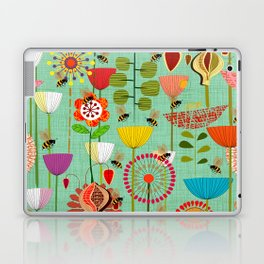 WHERE THE BEES FLY Laptop & iPad Skin
