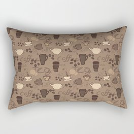 Caffeine Fix Rectangular Pillow