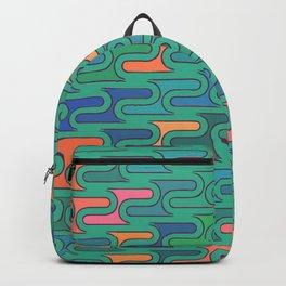 Ocean Swirls Backpack