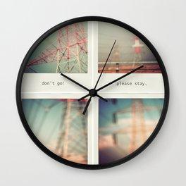 don't go Wall Clock