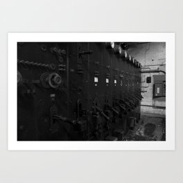 Powerstation Art Print