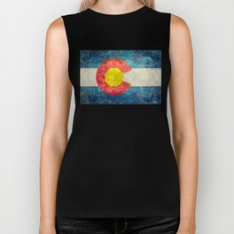Coloradan State Flag Biker Tank